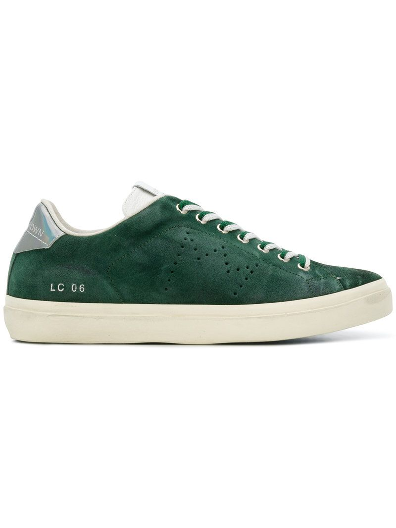 Leather leathercrown Sneakers Crown Lc shoes 06 Uw6UFr