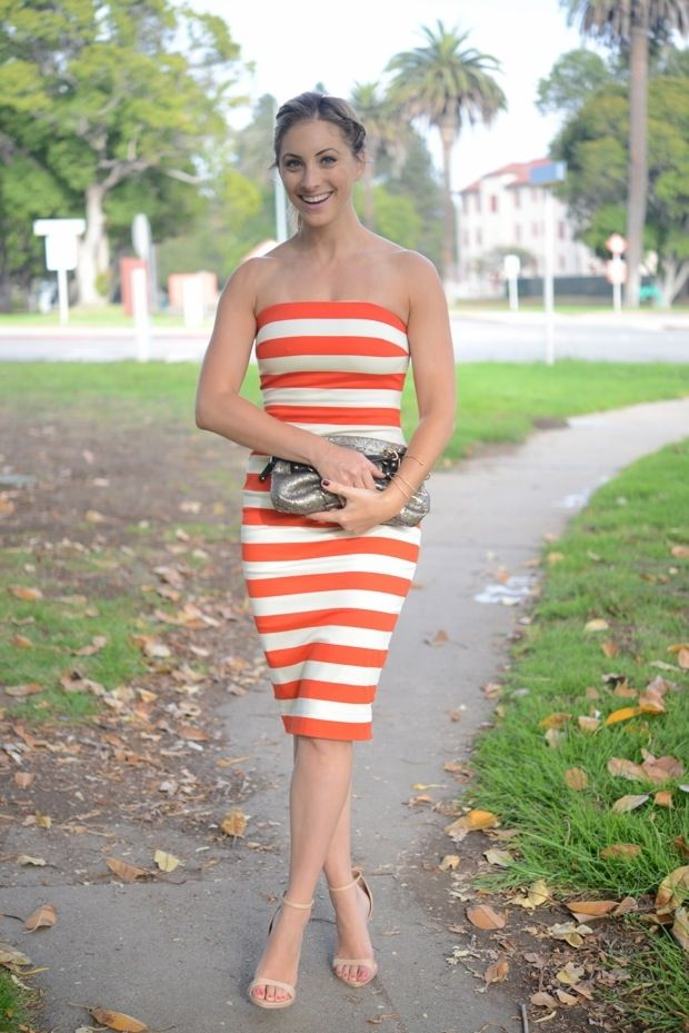 Striped and Strapless