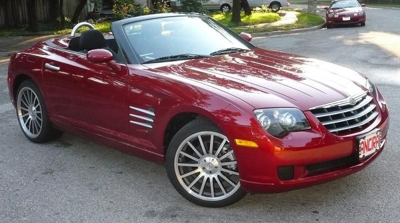 Chrysler Crossfire Convertible 2014 With Images Chrysler