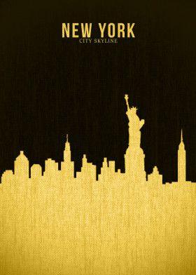NEW YORK | Displate thumbnail