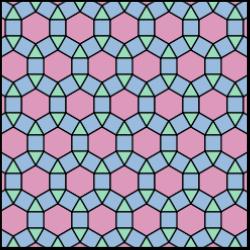 Tiling Semiregular 3 4 6 4 Small Rhombitrihexagonal Svg