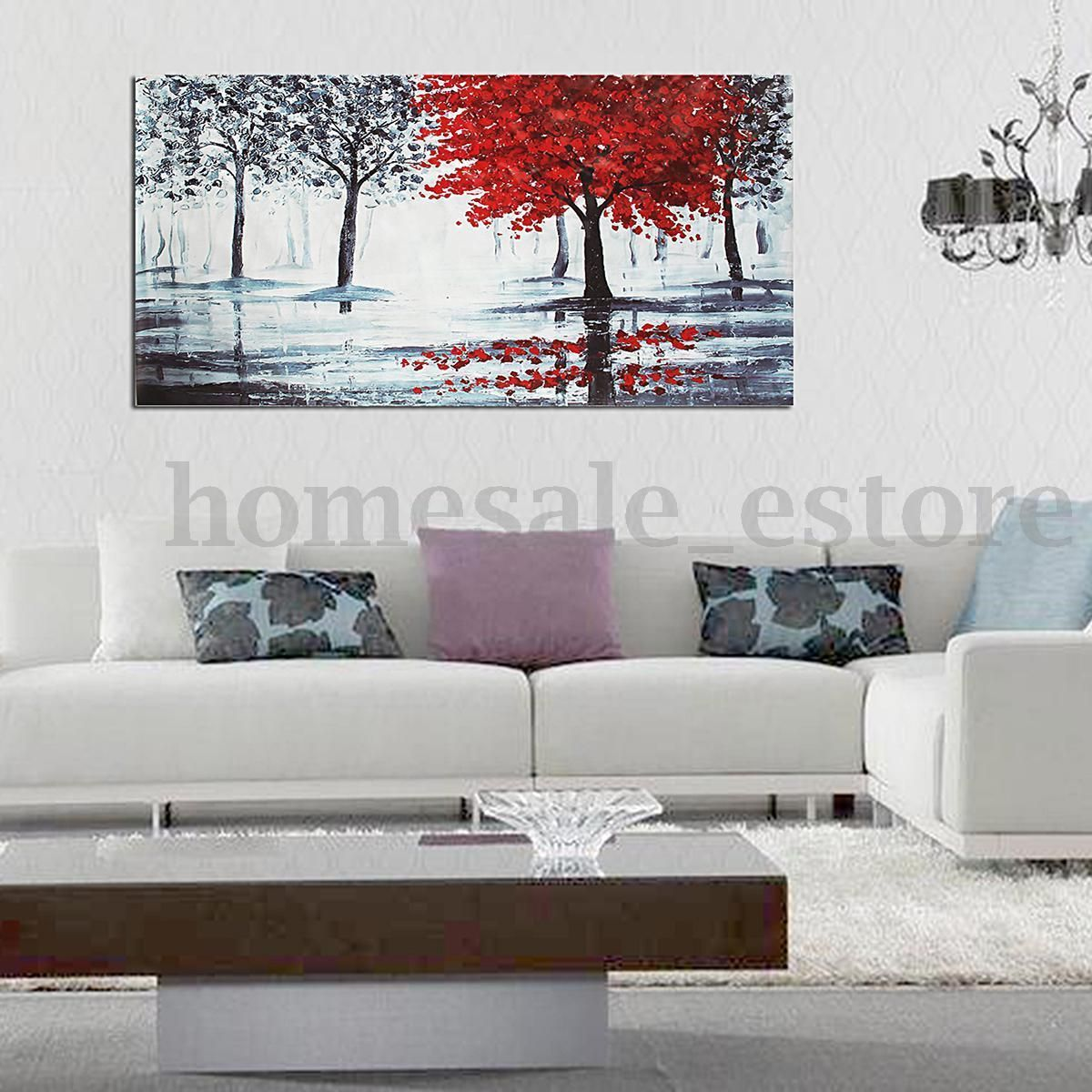 Large Modern Art Oil Painting Canvas Print Picture Home Room ...