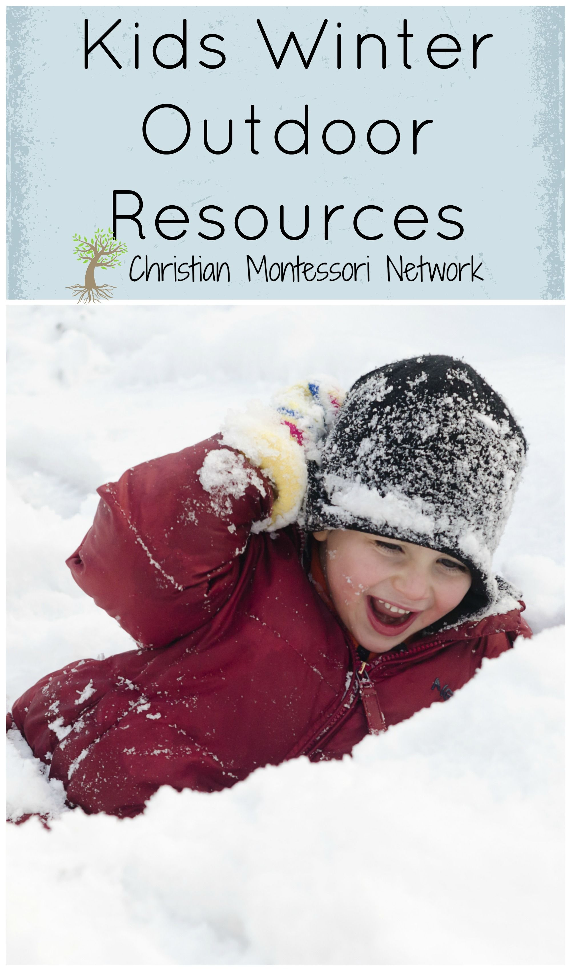 My son is disappointed it hasn't snowed yet, but that doesn't stop us from getting out and enjoying outside with these wonderful winter outdoor resources.