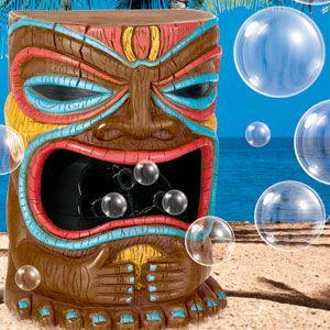 Tiki Bubble Machine