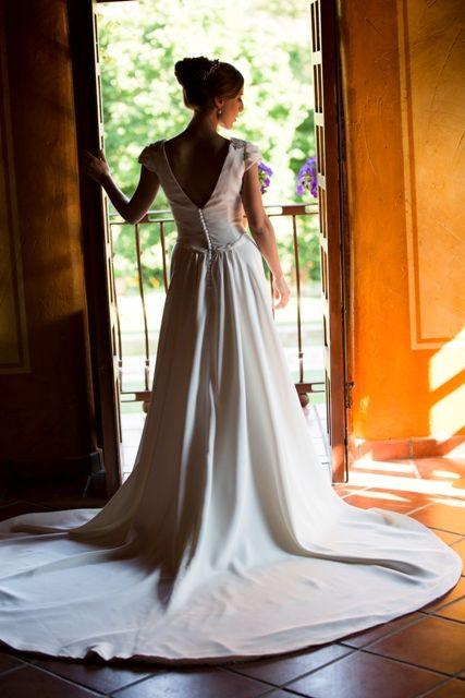 el vestido de novia de blanca: al mÁs puro estilo femenino de