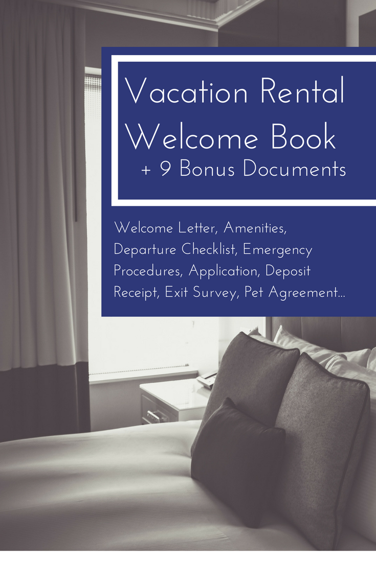 Modern Welcome Book 6 Page Vacation Home Printable Template Airbnb House Manual Printable Beach Rental Edit Online With Corjl Vacation Rental Rental Vacation