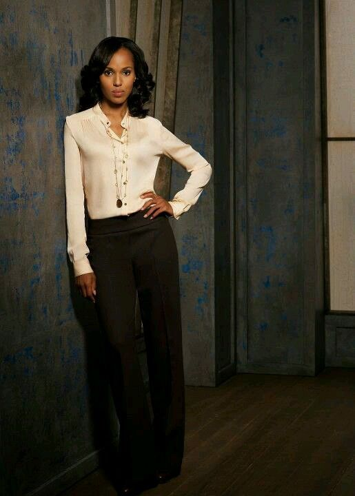 obsessed with Olivia Pope's work style
