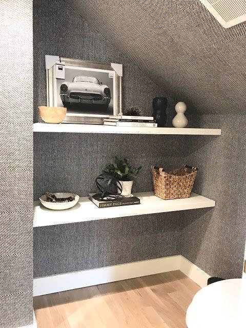 Romo Omexco Black And White Herringbone Grasscloth Wallpaper Wallpaper Shelves Grasscloth Walls Grasscloth Wallpaper