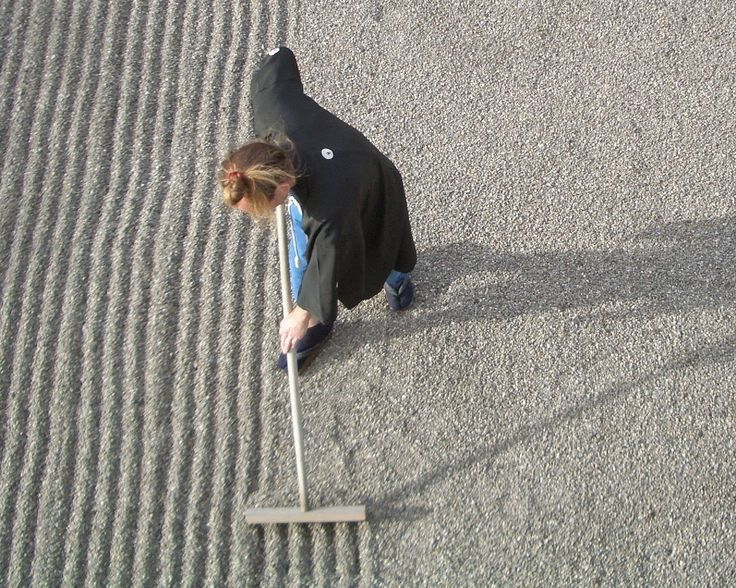How To Make A Zen Garden Rake Japanese Gardens Pinterest