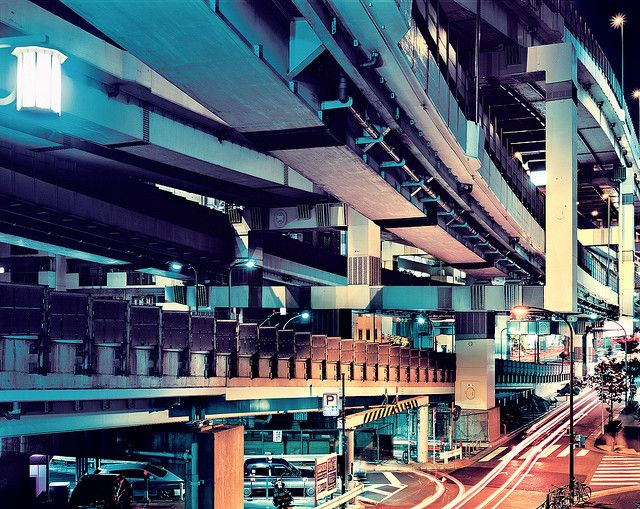The future began a long time ago in Tokyo - Tokyo Elevated Expressways