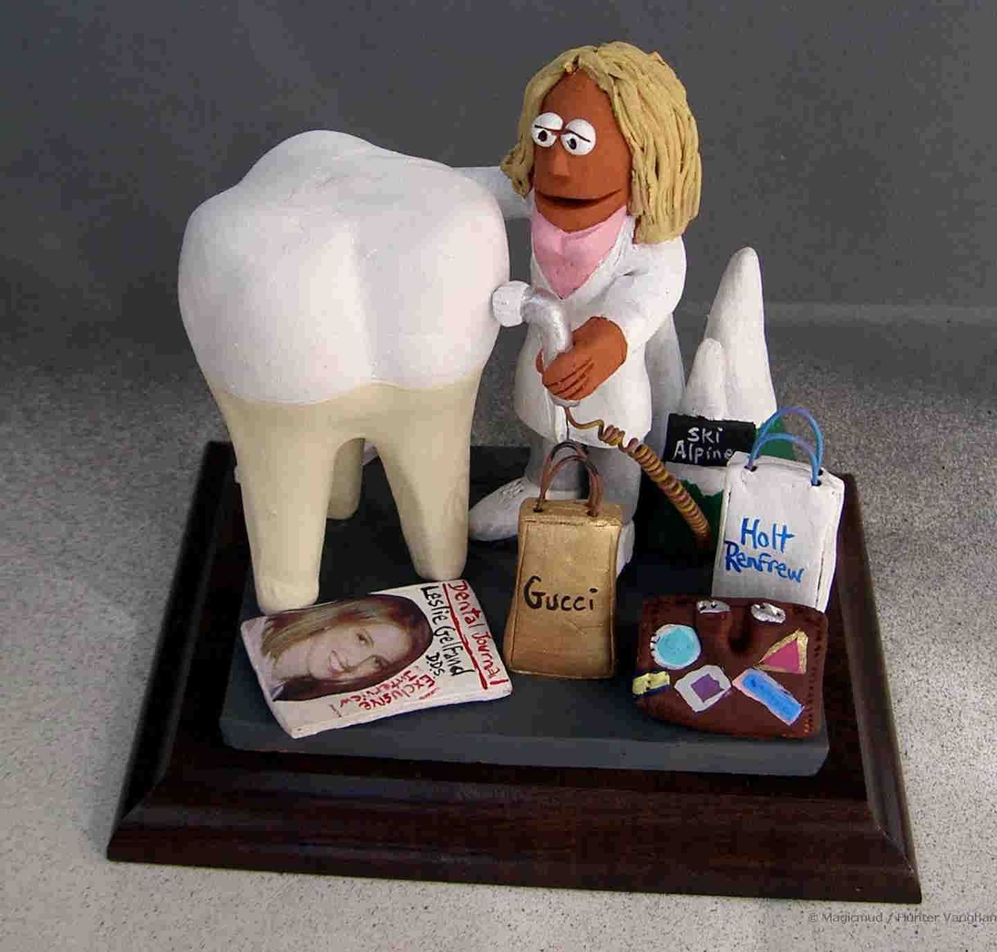 Customized gift for a Female Dentist by www.magicmud.com any ...