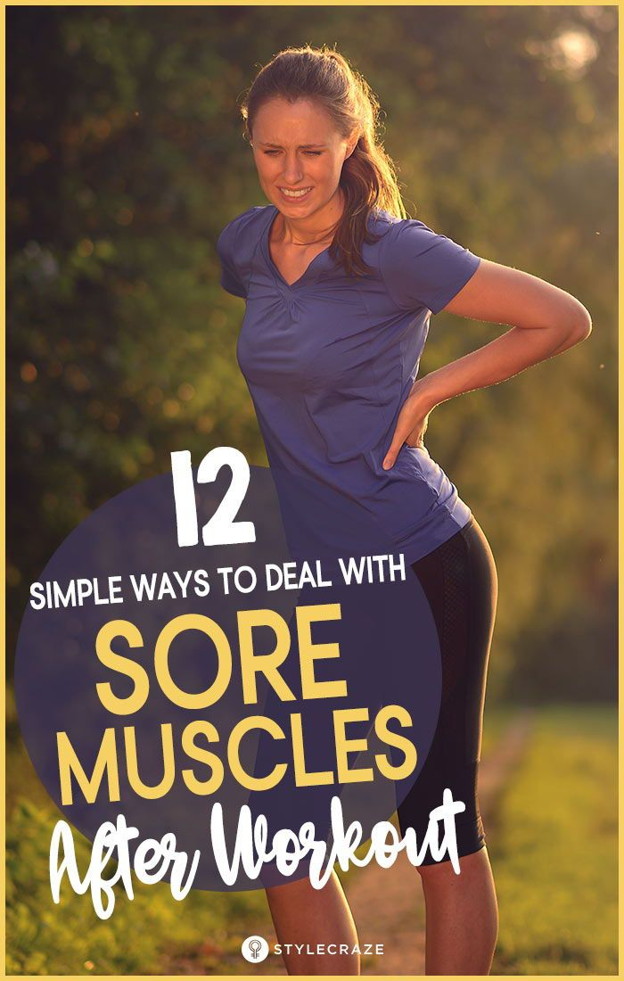 Best Tips Muscle Pain Relief After Workout : How to Fix Sore Muscles : 12 Easy Ways For Relief