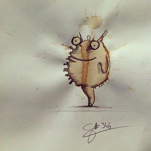 coffee-stain-doodle-monsters-coffeemonsters-stefan-kuhnigk49