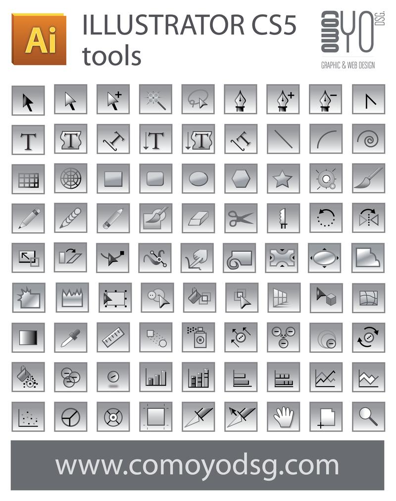 1037 Illustrator Cs5 Tool Icon Png 800 1011 Illustrator Cs5 Illustration Free Photoshop
