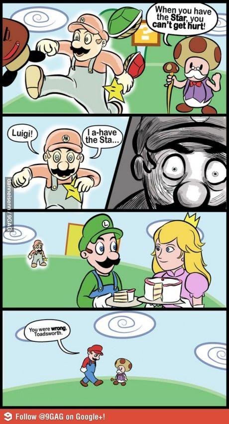 Mario Bros. humor lol