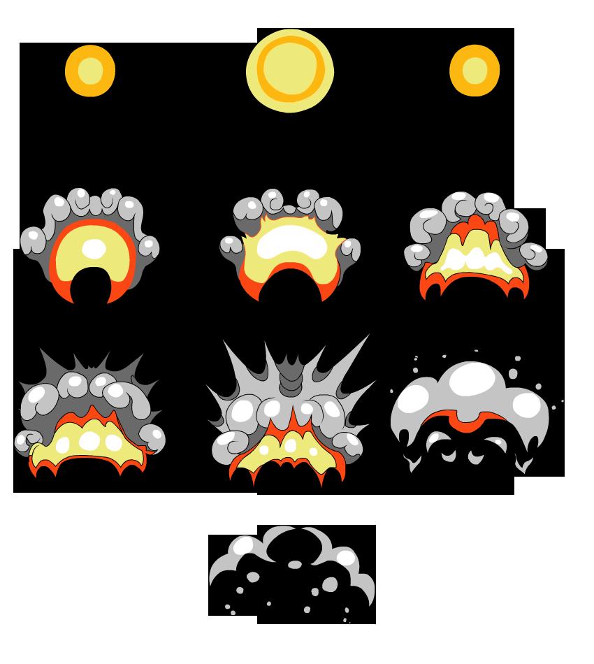 Animate a Cartoon Explosion With Flash Professional - Basix | Dev ...