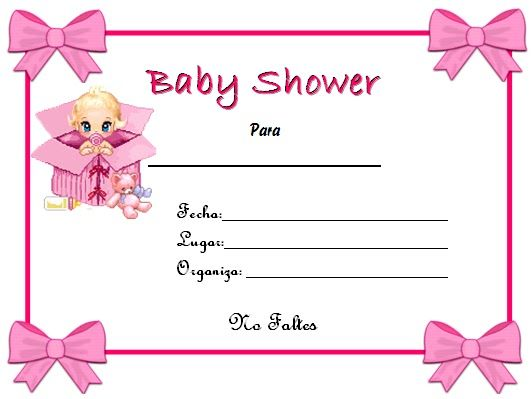 Pin De Grace Amaya En Invitaciones Baby Shower