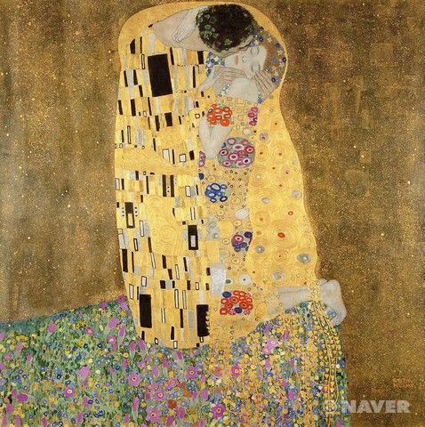키스 - 구스타프 클림트    이 작품은 너무나도 유명한 클림트의 키스라는 작품이다. 제목에서 유추할 수 있듯이 남자가 여자의 볼에 키스를 해주고 있다. 여자는 남자의 목에 팔을 두르고 무릎을 꿇고 눈을 지긋이 감고 있다. 사랑이 느껴지고 너무 평온하고 따뜻한 분위기이다. 하지만 명작스캔들이라는 프로그램을 통해 이 그림의 두남녀는 키스를 하는것이 아니라 흡혈귀인 남자가 여자의 피를 빨아먹고있는 것이라는 새로운 해석이 있다는 것을 알게되었다. 여자가 주먹을 쥐고있다는점, 남자의 볼이 무언가를 빨아들이듯 움푹 들어가있다는 점 등이 그 주장의 근거인데 그 주장을 듣고난뒤에는 이그림을 볼때 뭔가 평온한 느낌보다는 불안하고 두려운 느낌이 들기도 한다. 낭떠러지 배경도 여자가 도망가다가 잡힌것같은 느낌을 주고 자세히 보면 남자의 얼굴도 무섭게 느껴진다. 그럼에도 황금빛 채색은 여전히 아름답다.