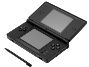 English A Nintendo Ds Lite Shown With Stylus Nintendo Ds Ds Lite Nintendo Ds Lite