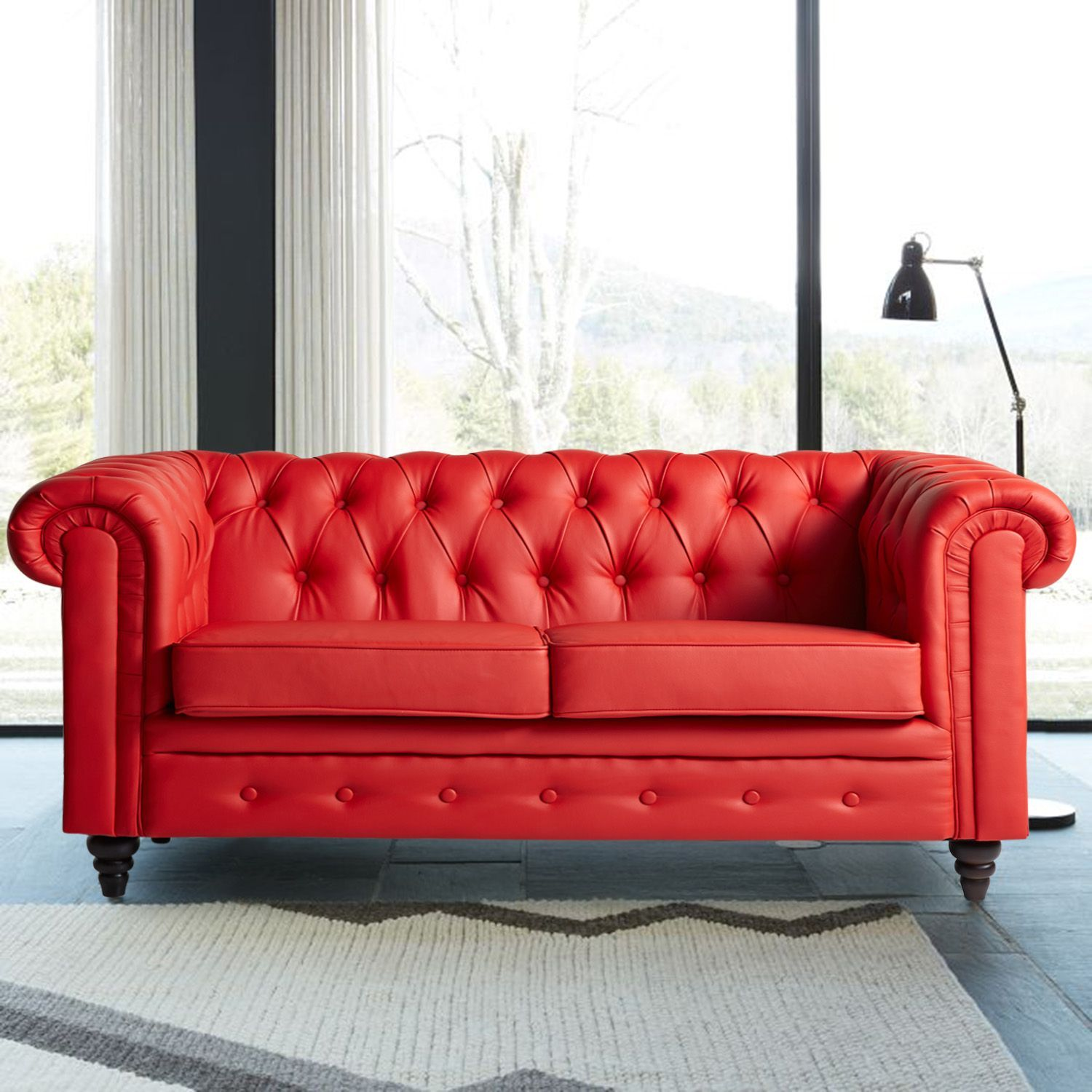 CHESTER PU Sofa  2 Seater
