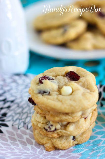 Mandy's Recipe Box: Strawberries 'N Cream Cookies