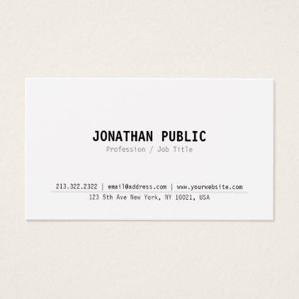 Minimalist modern elegant professional simple business card simple minimalist modern elegant professional simple business card simple clear clean design style unique diy colourmoves Gallery