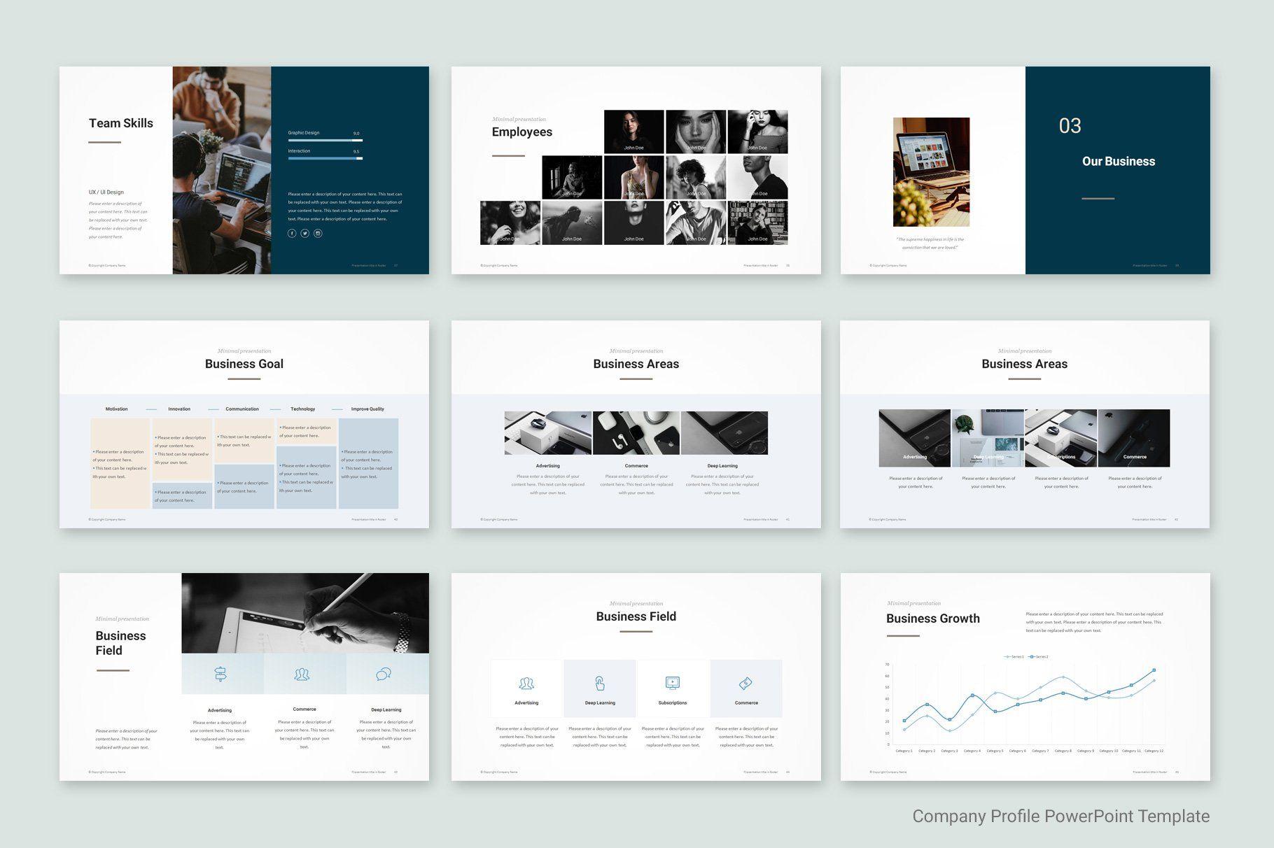 Company Profile Template Company Profile Template Company