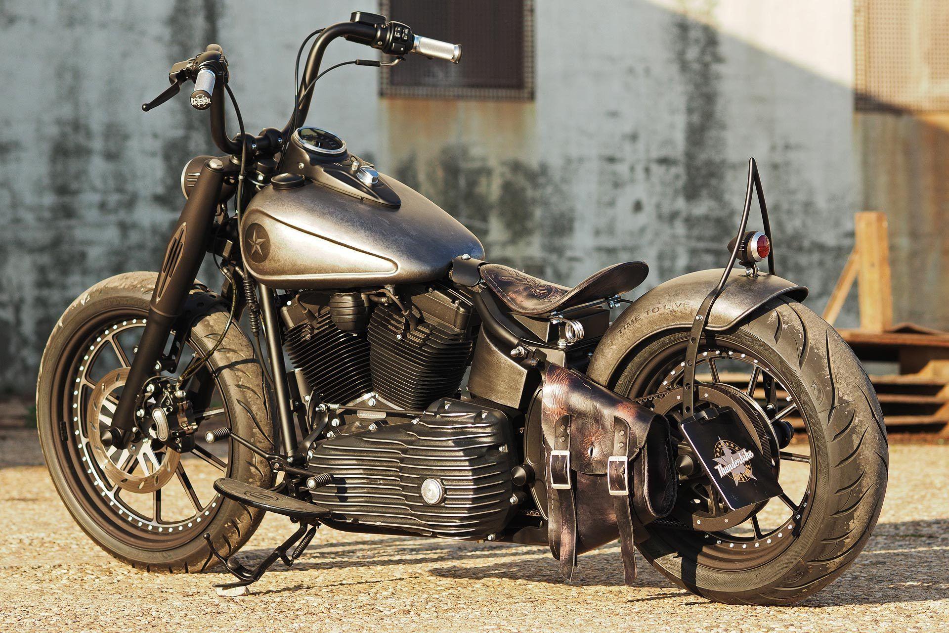 HarleyDavidson SOFTAIL SLIM Custom DEMOLITION Мотоцикл