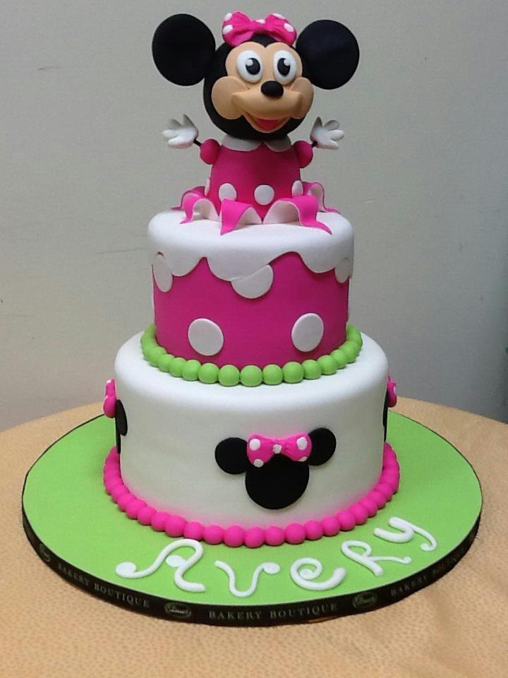 Custom Birthday Cakes for Kids Brooklyn NY Minnie mouse custom