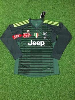 246cdf111 2018-19 Cheap Goalie Jersey Juventus Green LS Replica Soccer Shirt  DFC183