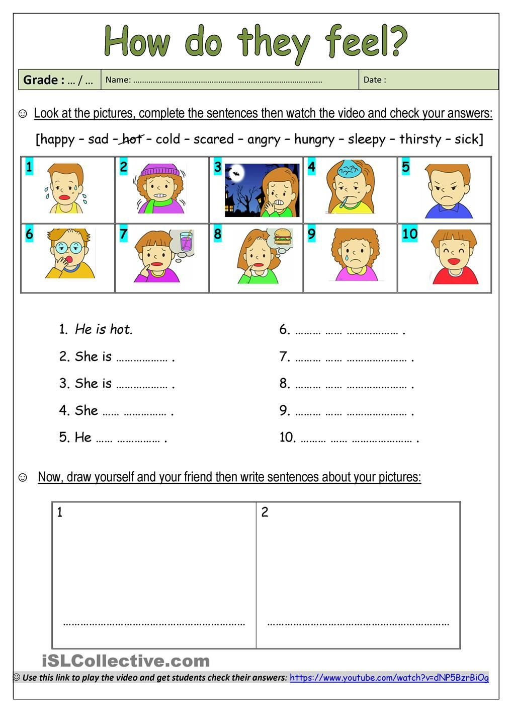 This Worksheet Would Be Helpful With Learning Emotions And