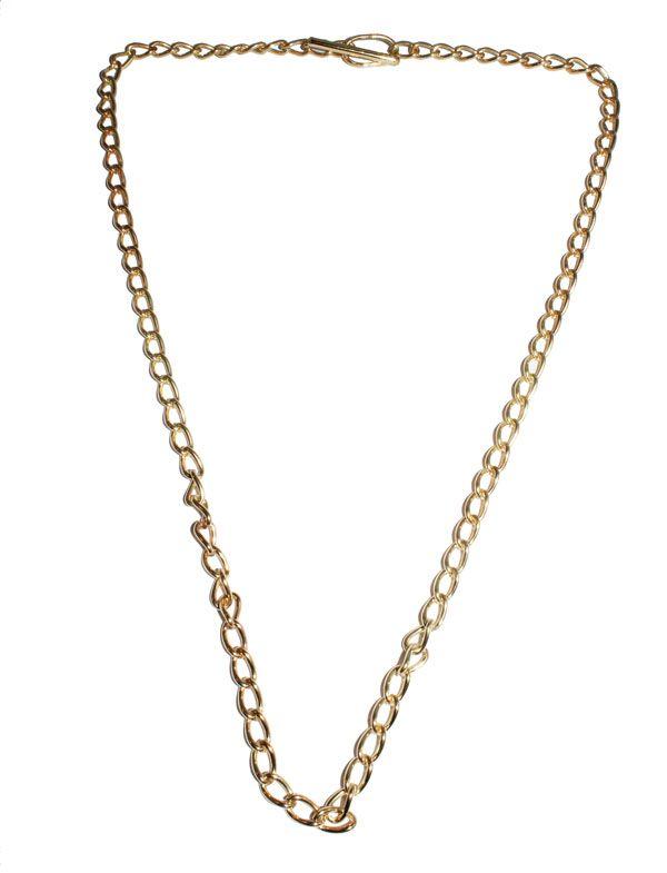 fc93490c70e4 Cadena de plata chapada en oro