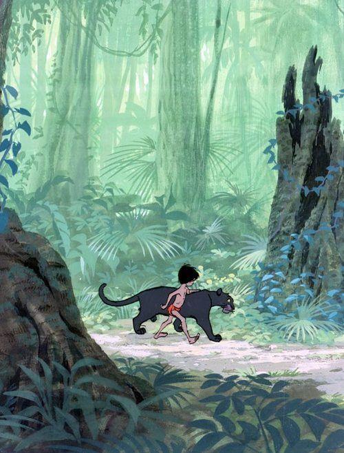 Le Livre De La Jungle Bagheera : livre, jungle, bagheera, Mowgli, Bagheera, Jungle, (1967), #waltdisney, Disney,, Livre, Jungle,, D'ecran, Dessin