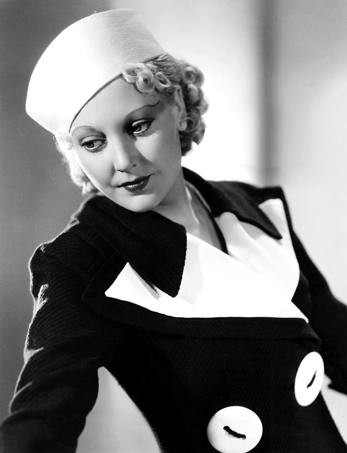 Thelma Todd, 1934 by Everett in 2020 Thelma todd, Old