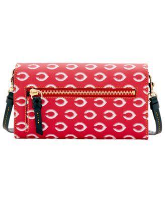 Dooney & Bourke Cincinnati Reds Daphne Crossbody Wallet - Red/Black
