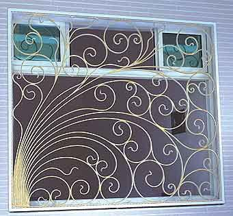 شبابيك حديد شباك حمايه حديد أشكال شبك حديد شبابيك الحديد شباك خارجي ديكور شبك Decor Roman Shade Curtain Home Decor
