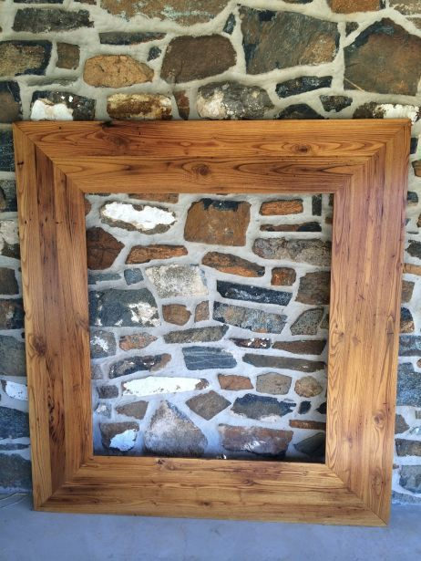 Reclaimed Barn Wood Furniture By Furniture From The Barn   Chestnut Mirror  Frame