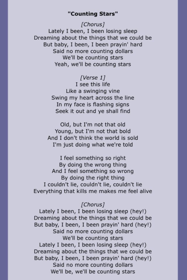 Lyric find my lyrics : One republic | Song Lyrics Four | Pinterest | Songs and Onerepublic