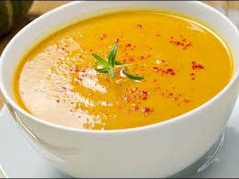 طريقة عمل شوربة العدس حساء على الطريقة التركية كما في المطاعم Youtube Butternut Soup Squash Soup Recipe Soup Recipes