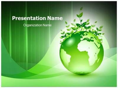 green earth powerpoint template is one of the best powerpoint, Modern powerpoint