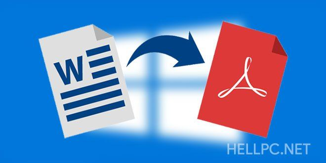 How To Save Documents As PDF In MS Office (Convert To PDF