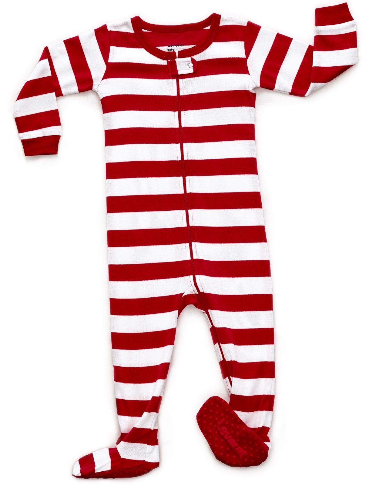 62301237e Sleepwear 163400  Leveret Baby Boys Girls Christmas Red And White ...