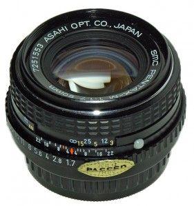Smc Pentax M 50mm F1 7 Reviews M Prime Lenses Pentax Lens Reviews Lens Database Pentax Digital Camera Lens Dslr Camera Reviews