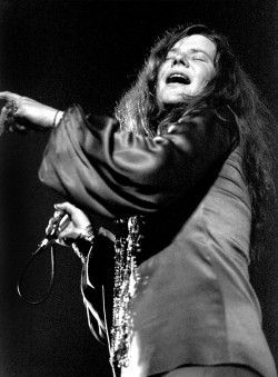 Janis Joplin by Ron Pownall