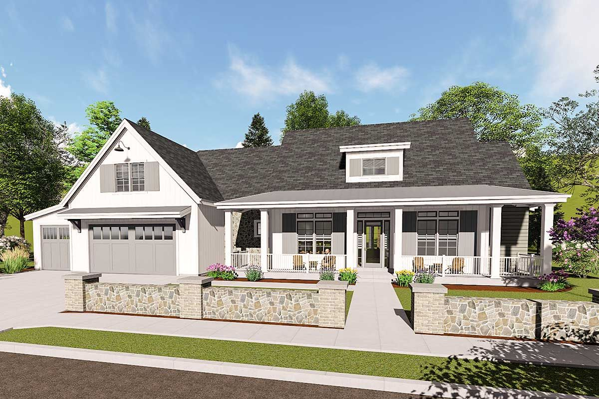 Plan 64460sc Country Farmhouse With Exterior Options And Optional Finished Lower Level House Plans Farmhouse Farmhouse House Country Style House Plans