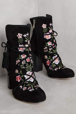 1a93bdff4423 Sam Edelman Winnie Ankle Boots  anthropologie Floral Ankle Boots