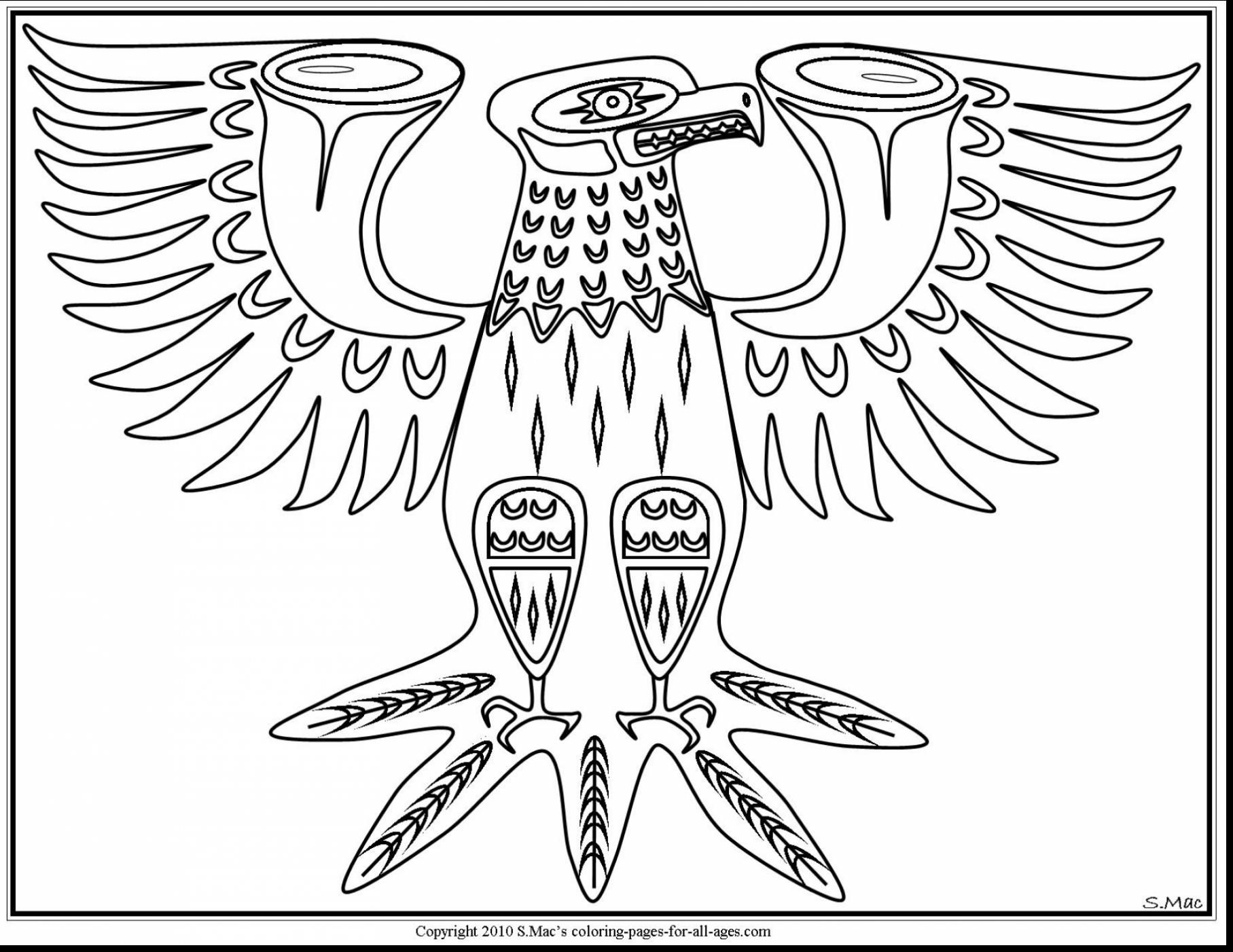 Fantastic Native American Art Coloring Pages With Native American