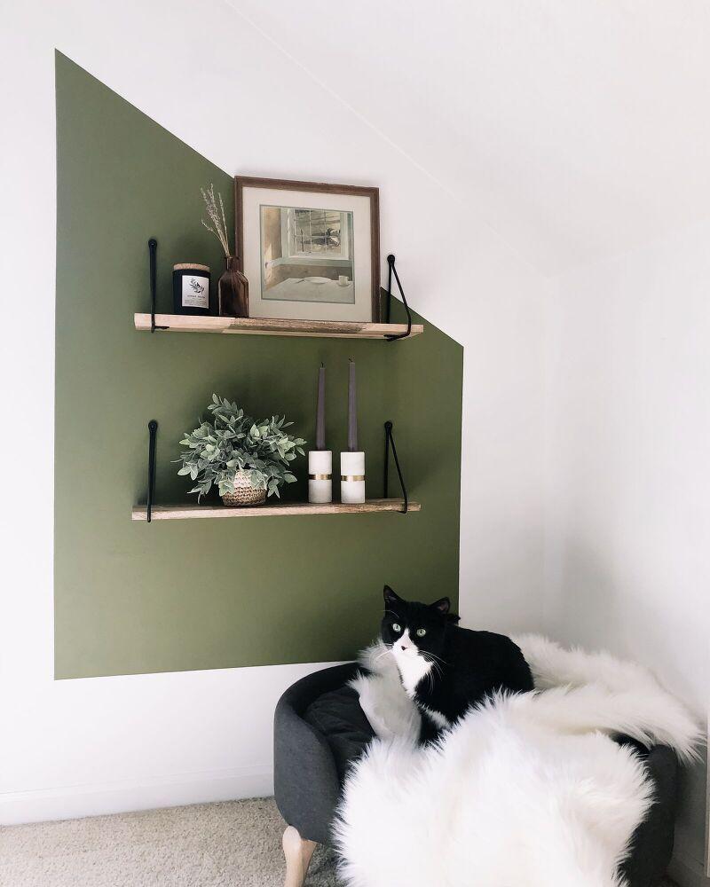 Photo of Cozy Colorblock Corner