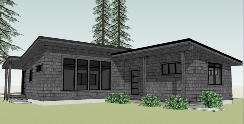 61 Claire Cottage Plan House plans Cottage plan