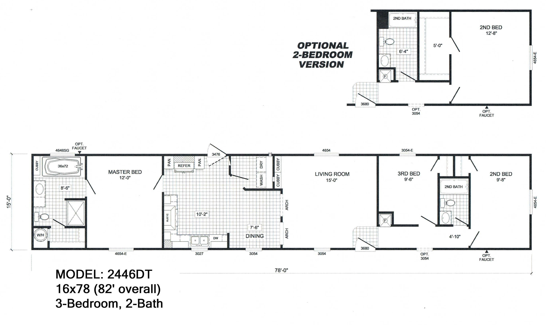 scotbilt mobile home floor plans singelwide don u0027t settle choose